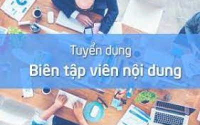 Tuyển BTV Nội dung Full time